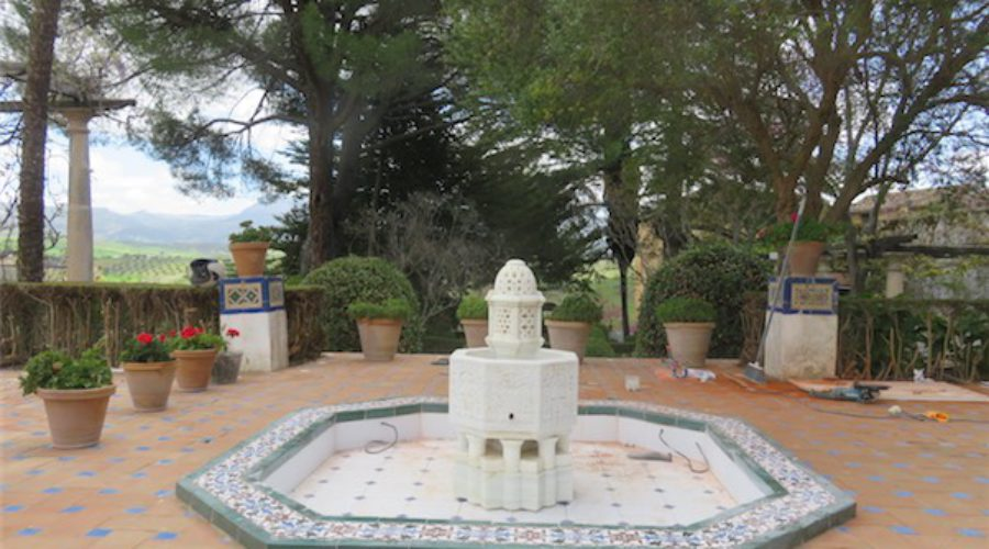 La Casa del Rey Moro recupera una fuente que fue expoliada hace 20 años